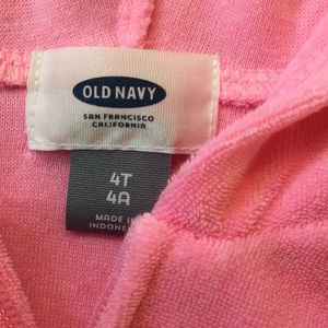 Old Navy Swim - Old Navy pink coverup size 4T